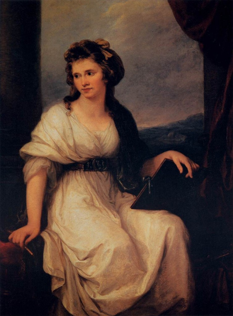 Angelica Kauffmann, Self-Portrait, 1787, Oil on canvas, 128 x 94 cm