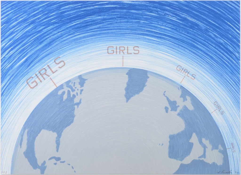 Girls, from the World Series, 1982 Lithograph 25 x 34 inches Edition of 40 Signed and numbered