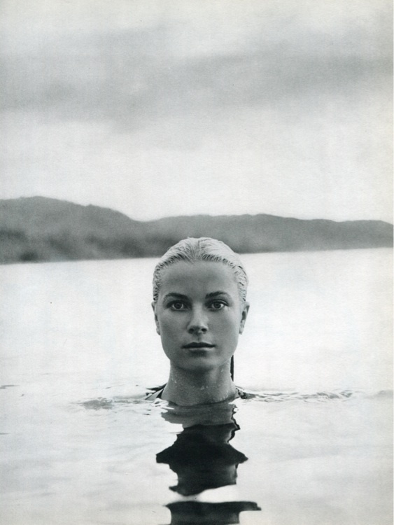 Grace Kelly, Portrait by Howell Conant, Jamaica, 1955.