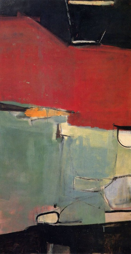 "Richard Diebenkorn, ""Albuquerque No. 77"", 1951."