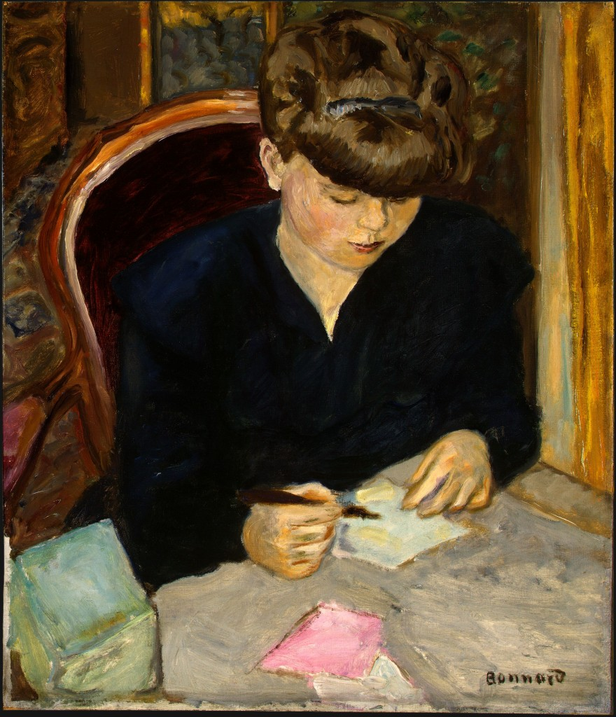 Pierre Bonnard, The Letter, c.1906, oil on canvas.