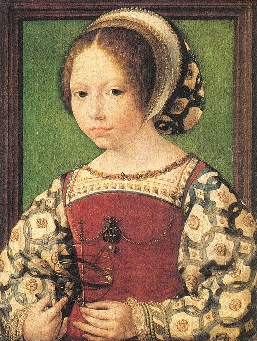 Thought to be Jacqueline de Bourgogne by Jan Gossaert, c.1530.