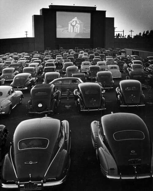 Allan Grant, San Francisco Drive-In Movie, 1948.