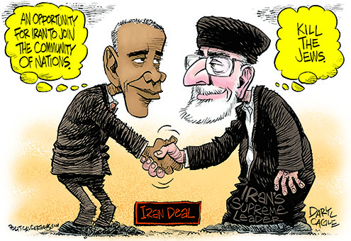Image result for Iran Nuclear Deal CARTOON
