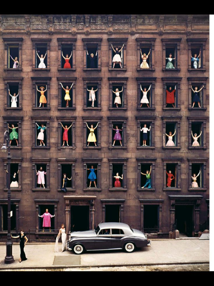 Ormond Gigli, Models in Windows, New York, 1960