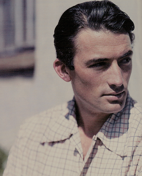 """I just do things I really enjoy. I enjoy acting. When I'm driving to the studio, I sing in the car. I love my work and my wife and my kids and my friends. And I think ""You're a lucky man Gregory Peck, a damn lucky man."" —Gregory Peck"