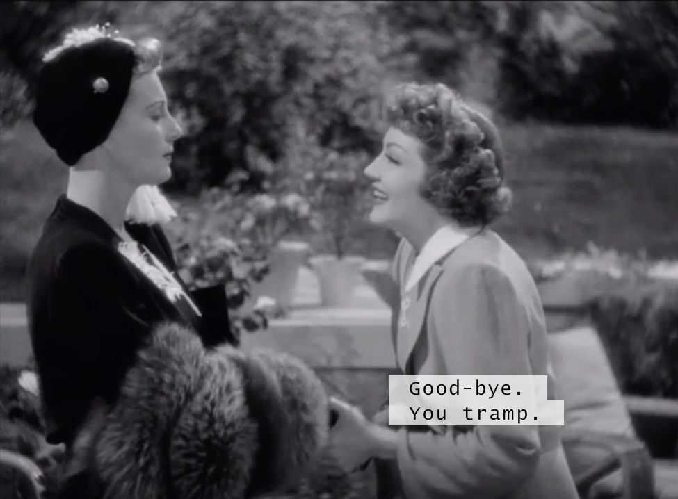 Binnie Barnes and Claudette Colbert - Skylark 1941
