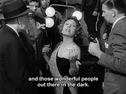 "Gloria Swanson in ""Sunset Boulevard"" 1950 Written by Charles Brackett Billy Wilder D. M. Marshman, Jr."