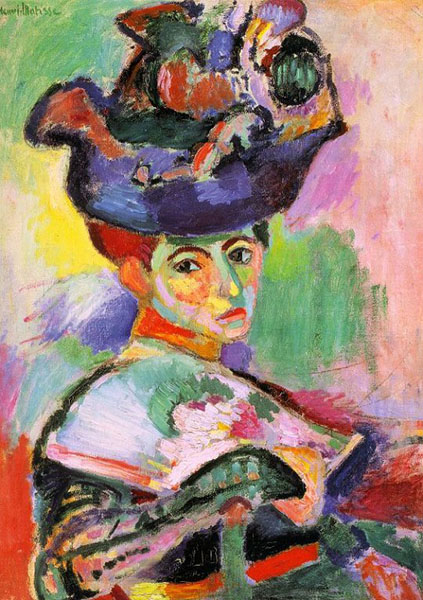 Matisse, Woman With a Hat (1905)
