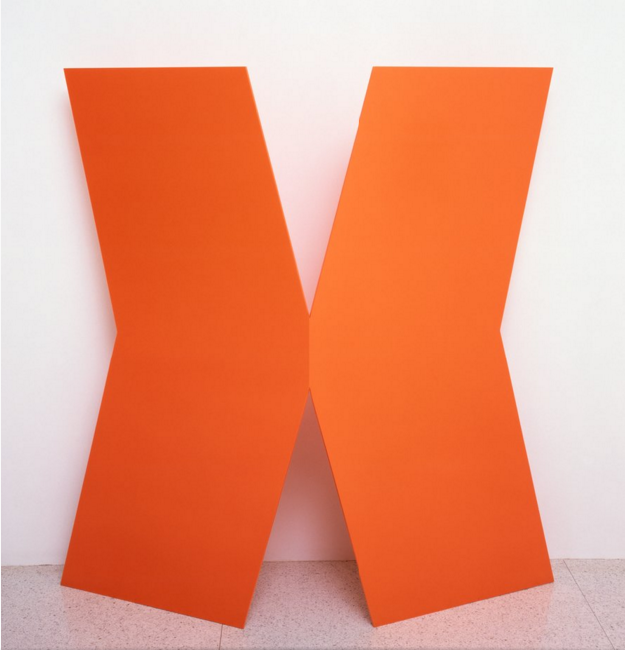 Ellsworth Kelly, Gate, 1959, Aluminium, paint, 63 x 63 x 17 in, Walker Art Center, Washington
