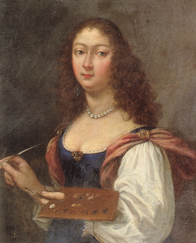 Self Portrait by Elisabetta Sirani, 1660, Italy