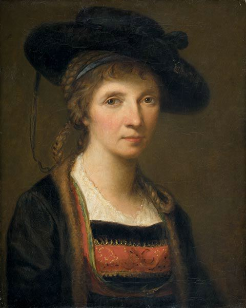 Self Portrait by Angelica Kauffman, 1781, Austria