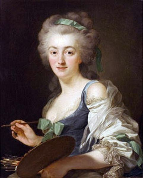Self Portrait by Anne Vallayer-Coster, 1783, France