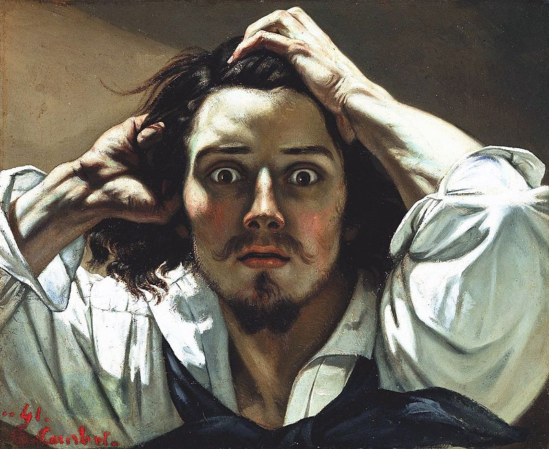 Gustave_Courbet, The Desperate Man,