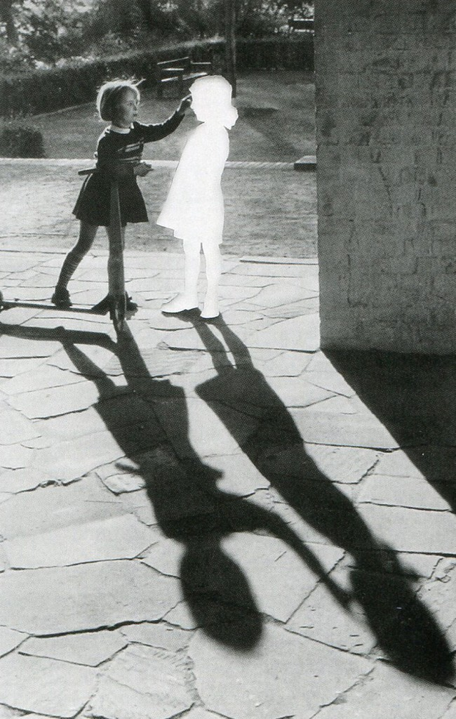 "Hans Peter Feldman, ""Two Girls With Shadow"" 2004."