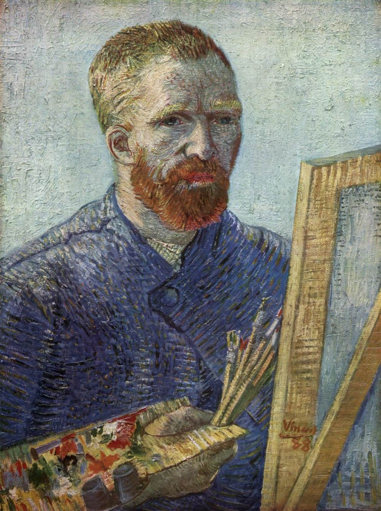 Vincent van Gogh Self-Portrait in front of the Easel January 1888, Paris Oil on canvas, 65 x 51 cm Rijksmuseum, Amsterdam