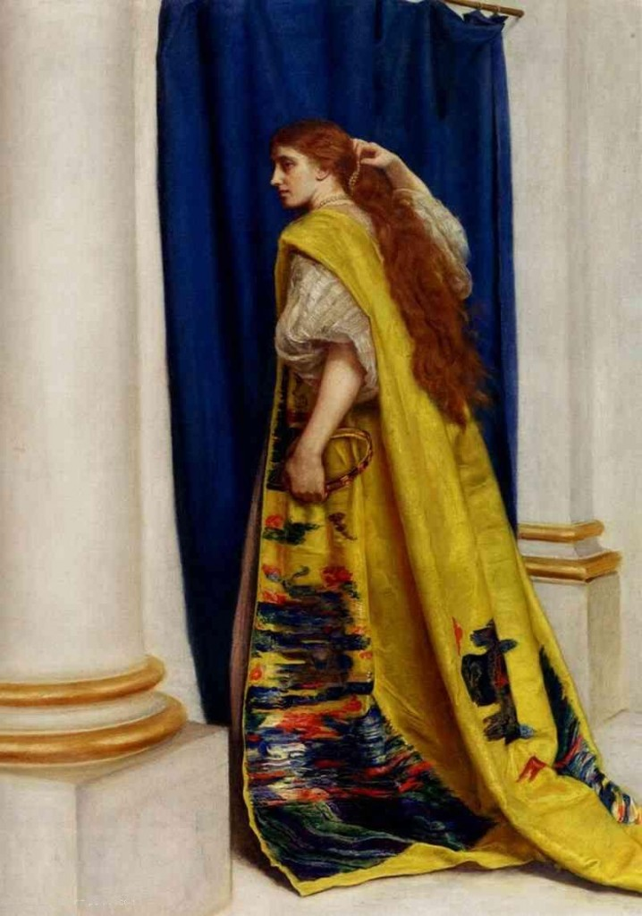 "John Everett Millais (1829–1896) ""Esther"", 1865, oil on canvas."