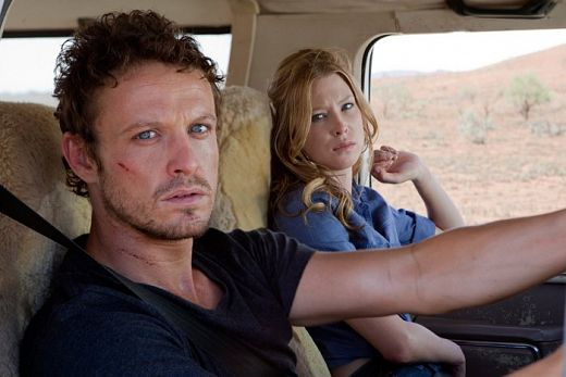 David Lyons and Emma Booth in Swerve.