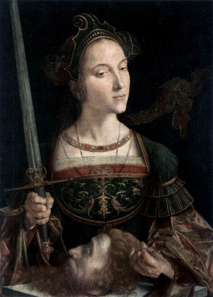 Jan Cornelisz Vermeyen Judith with the Head of Holofernes c. 1525 Oil on panel, 65 x 47 cm