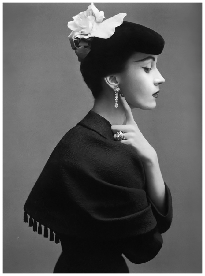 Richard Avedon, Dovima in Balenciaga