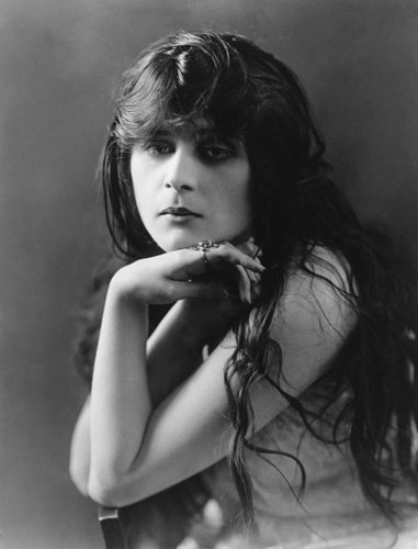 """To be good is to be forgotten. I'm going to be so bad I'll always be remembered."" —Theda Bara"