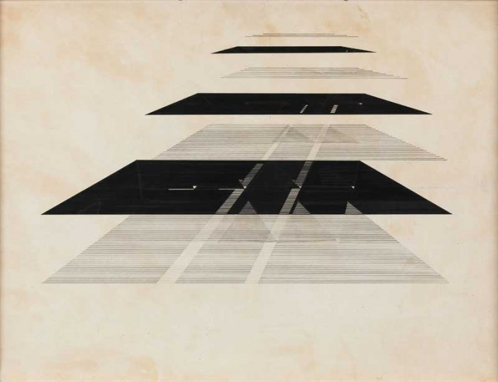 Nasreen Mohamedi, Indian, (1937—1990) Untitled c1970s Ink on paper, 510 x 710mm