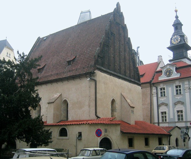 The Old-New Synagogue in Prague where the Maharal, Judah Loew ben Bezalel, officiated.
