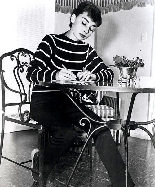 """The greatest victory has been to be able to live with myself, to accept my shortcomings… I'm a long way from the human being I'd like to be. But I've decided I'm not so bad after all."" —Audrey Hepburn"