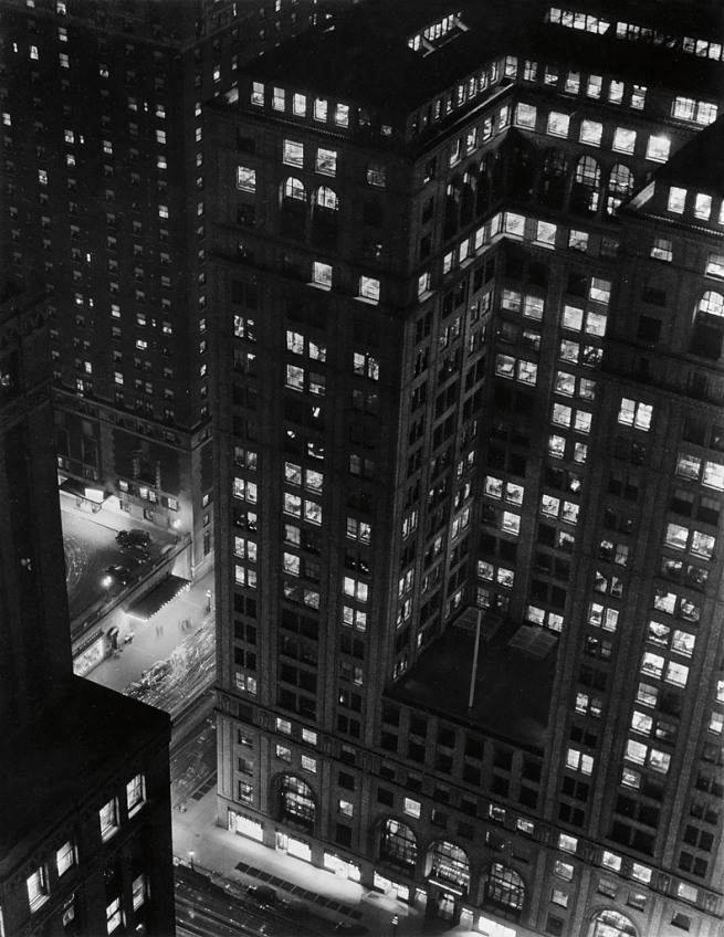 Paul j Woolf, Looking Down on Grand Central Station, 1935