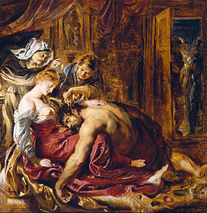 Peter Paul Rubens Samson and Delilah 1609–1610 Oil on wood 73 in × 81 in National Gallery London
