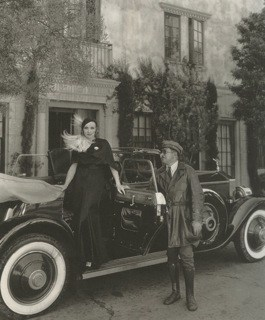 "Director Josef von Sternberg, b. Jonas Sternberg, gave Marlene Dietrich this 1931 forest green Rolls Royce as a gift. Her chauffer, Briggs—perfect name—carried a set of revolvers to protect his famous employer. When Dietrich traveled to Europe, she sent her Rolls and Briggs in advance. David Niven notes in his excellent autobiography, ""The Moon's a Balloon"" that Dietrich supplied Briggs with a mink trimmed uniform, which, I suppose, qualifies Briggs as Hollywood's first metrosexual chauffer-bodyguard."