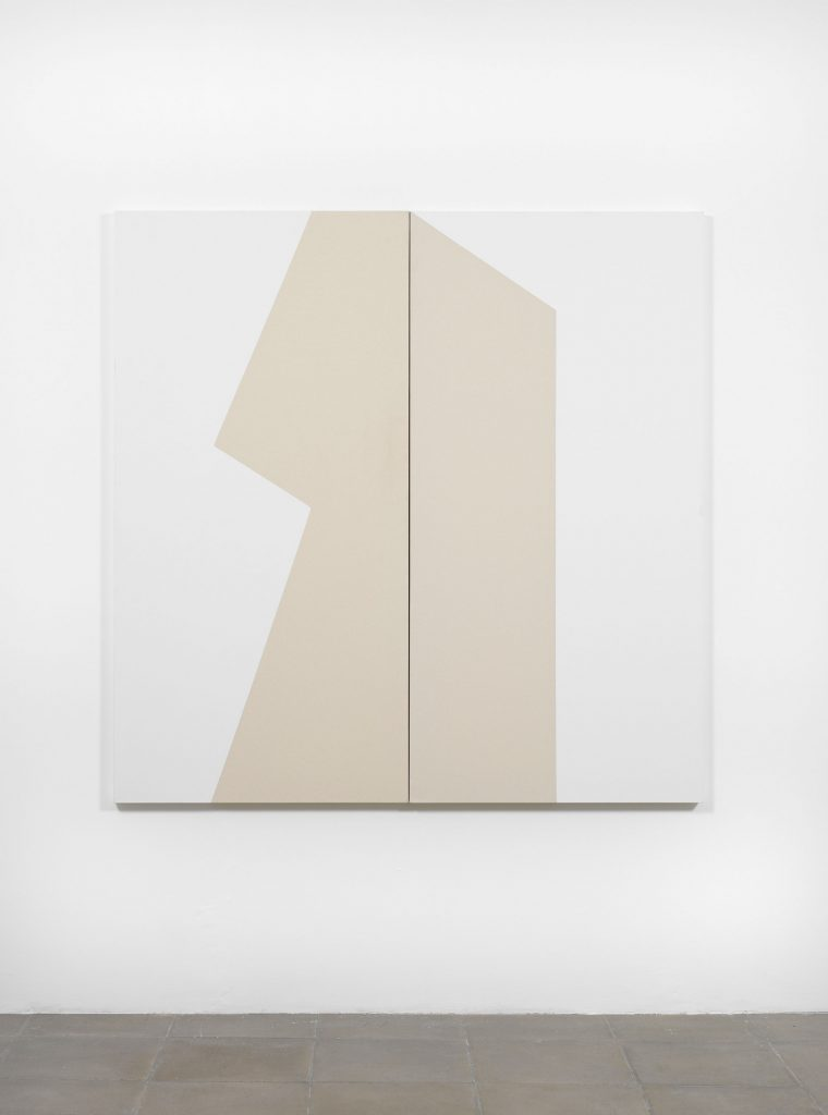 Carmen Herrera Futuro (diptych), 2009 Acrylic on Canvas 72 x 72 in. overall