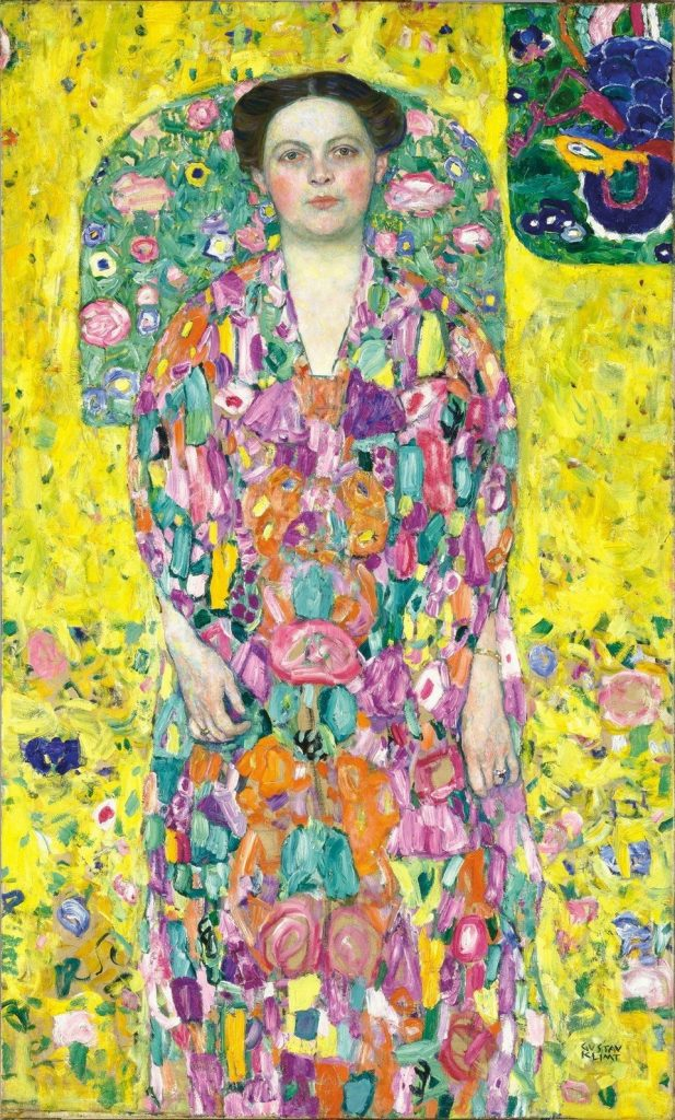 Gustav Klimt, Eugenia (Mada) Primavesi, 1913/14 Oil on canvas 140 X 85 CM