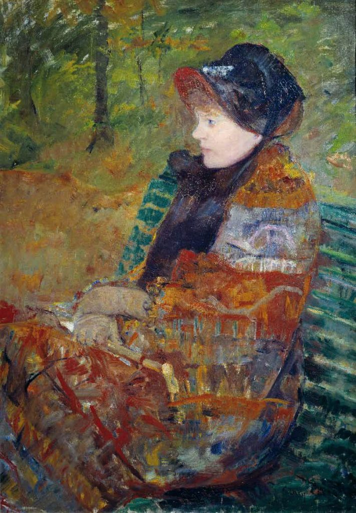 Mary Cassatt American painter (b. 1844, Allegheny City, d. 1926, Le Mesnil-Théribus, Oise) Lydia Cassatt, the Artist's Sister 1880 Oil on canvas, 92 x 65 cm Musée du Petit Palais, Paris
