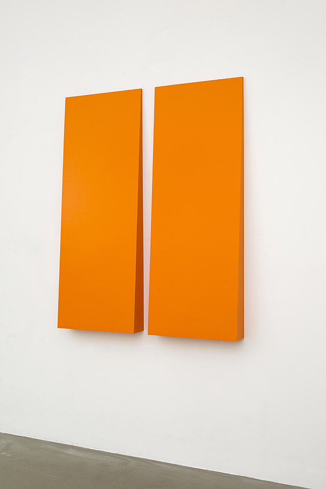 Carmen Herrera Untitled, 2007 Acrylic on Wood 60 x 50 in.