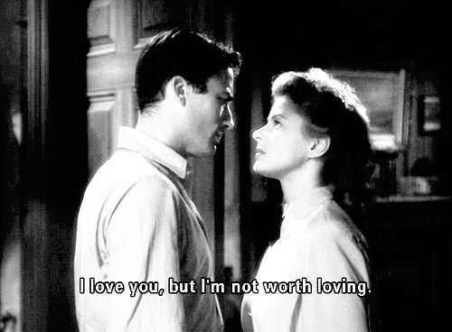 Gregory Peck and Ingrid Bergman, Spellbound