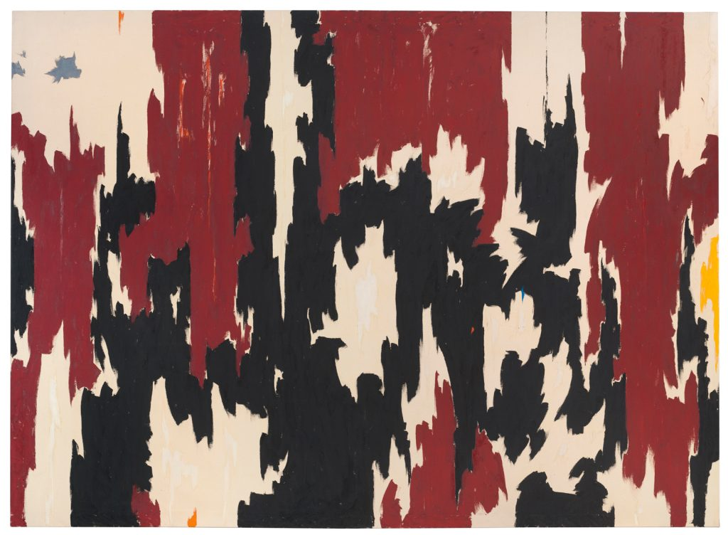 Clyfford Still PH-401, 1957 Oil on canvas 113 x 155 in