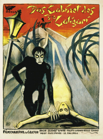 Original German Poster for The Cabinet of Dr Caligari