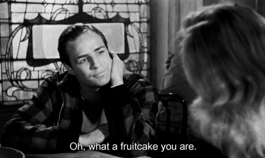 Marlon Brando and Eva Marie Saint, On the Waterfront, 1954 Screenplay by Budd Schulberg.