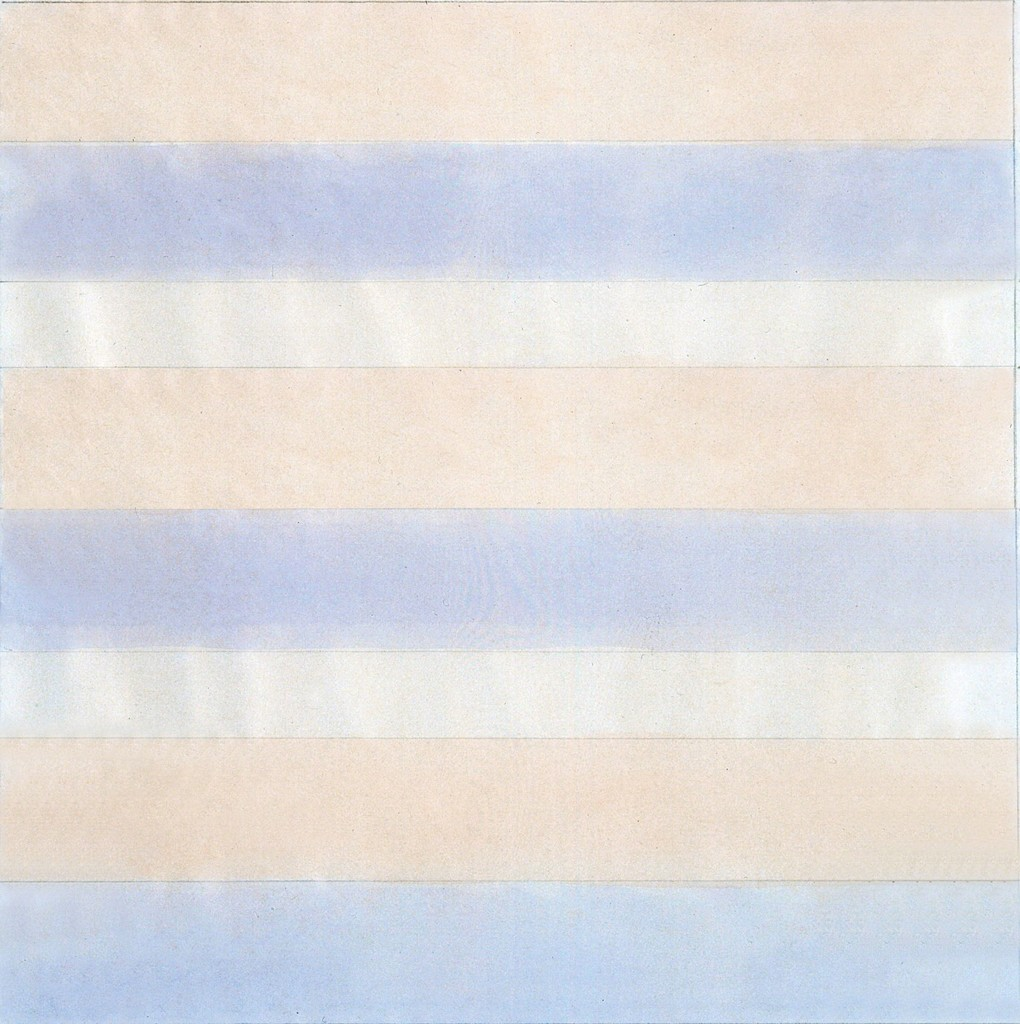 Agnes Martin Untitled , 1977