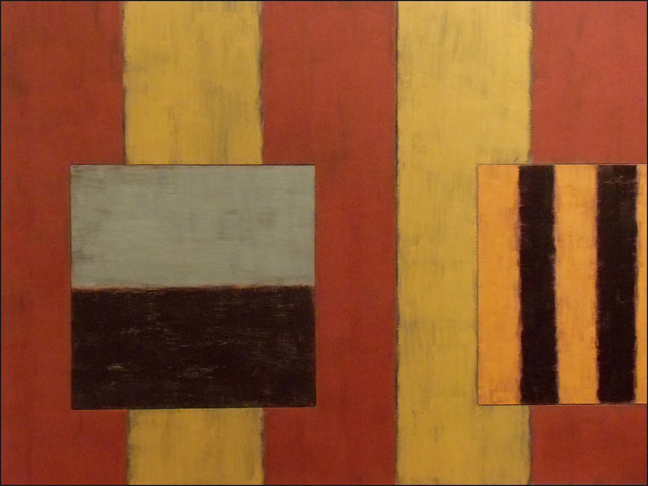 Sean Scully Catherine, 1987, oil on linen, 96 x 144 inches