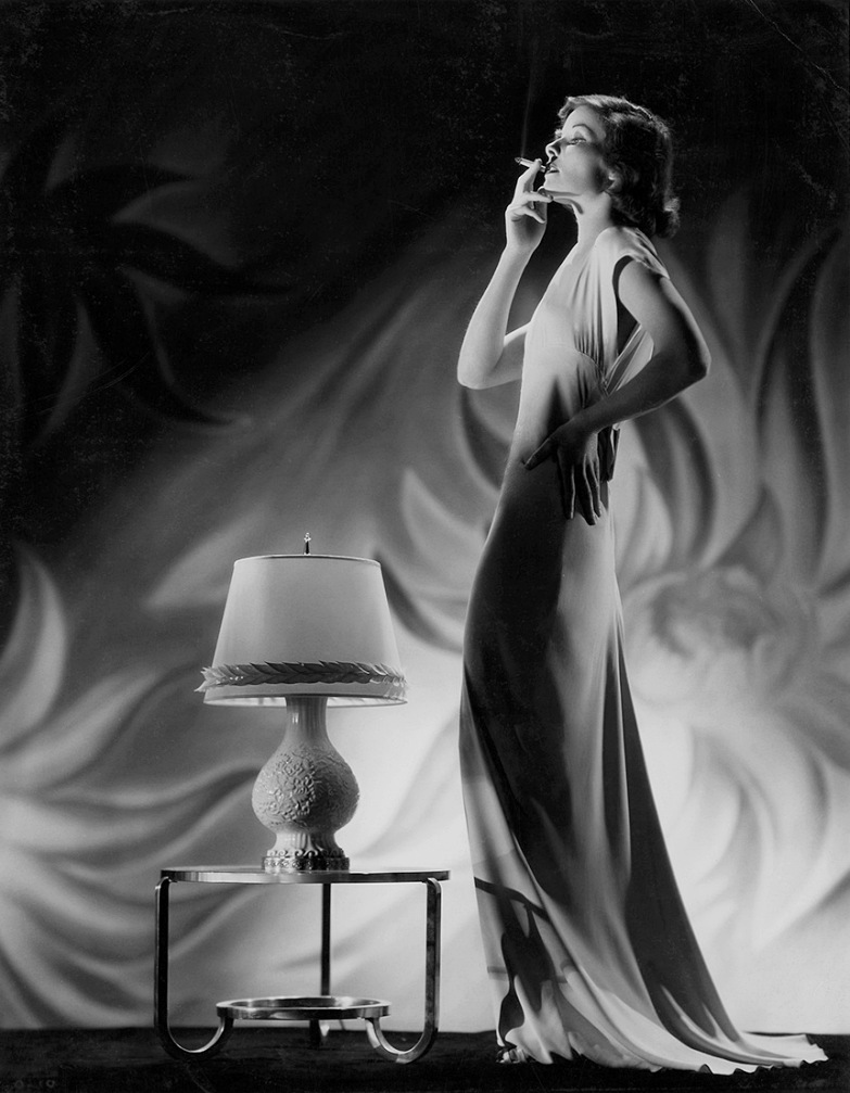 Katharine Hepburn in a 1932 photo by Ernest A. Bachrach