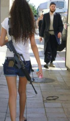 Welcome to Israel, where men are men and women are, um, glamorously lethal.