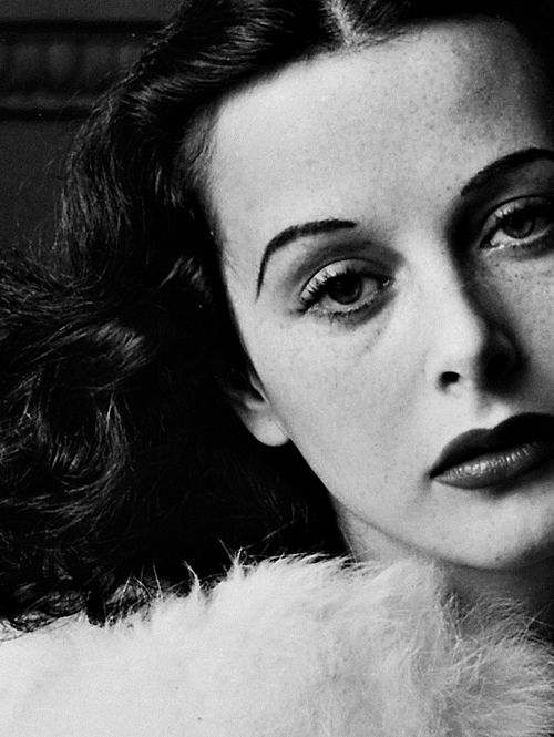 """My mother always called me an ugly weed, so I never was aware of anything until I was older. Plain girls should have someone telling them they are beautiful. Sometimes this works miracles."" —Hedy Lamarr"