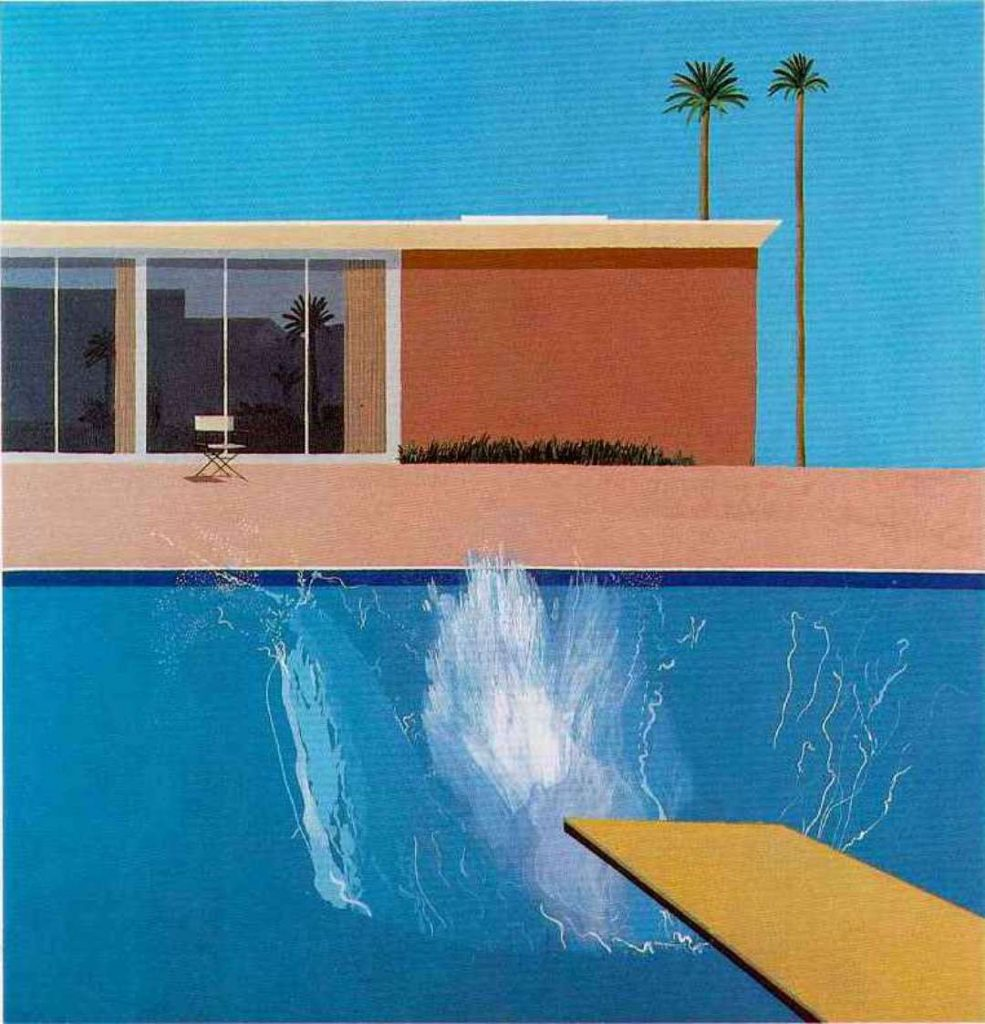 "David Hockney ""A Bigger Splash"" 1967"