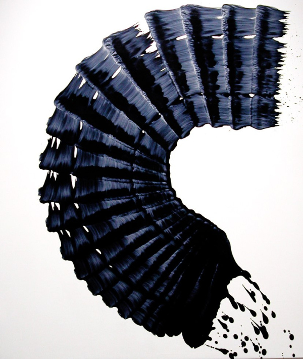 James Nares oil on canvas