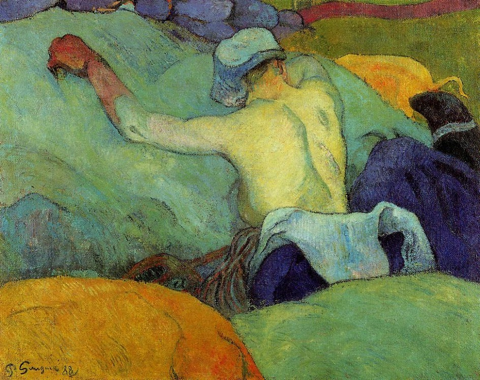 Paul Gauguin (1848-1903) In the Heat of the Day