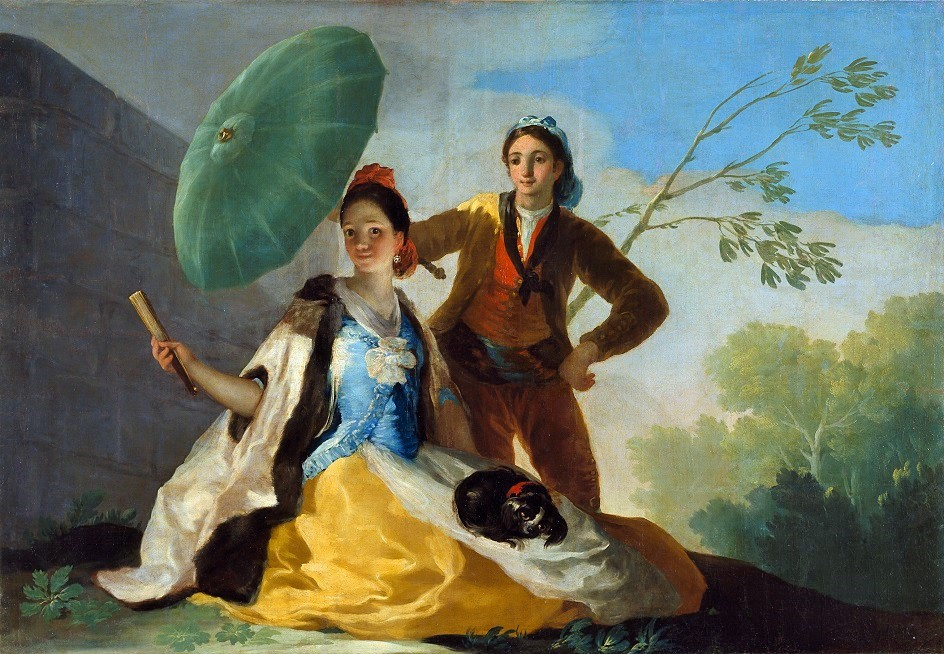 Francisco Goya (Spanish artist, 1746-1828) The Parasol