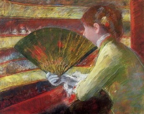 Mary Cassatt (American, 1844-1926) Theater