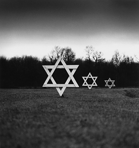 Michael Kenna From the series Concentration Camps, 1989-2000. Stars of David, Westerbrook, Hollandjpg